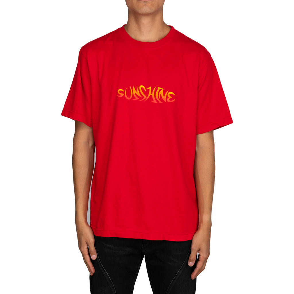 New York Sunshine American Dream On Fire S/S Tee, Red