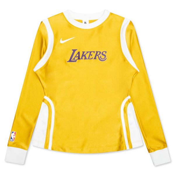 Nike x Ambush Wmns NRG Lakers L/S Top, Mineral Gold