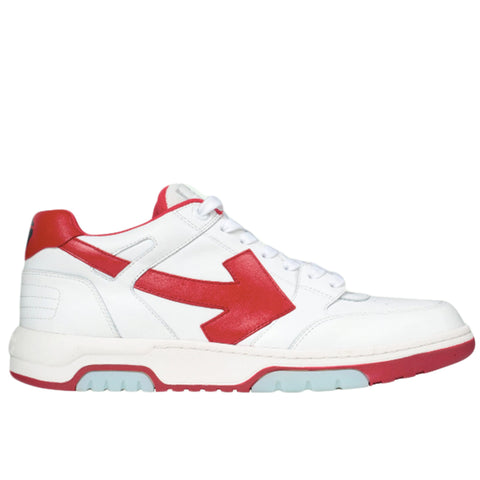 Off-White F20 OOO Out of Office, White/Red