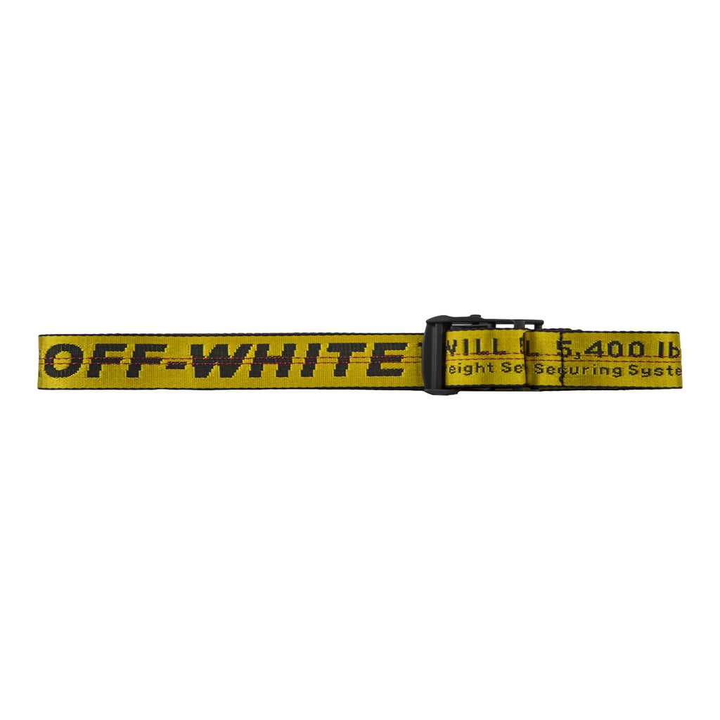 Off-White PF19 Industrial Belt, Yellow