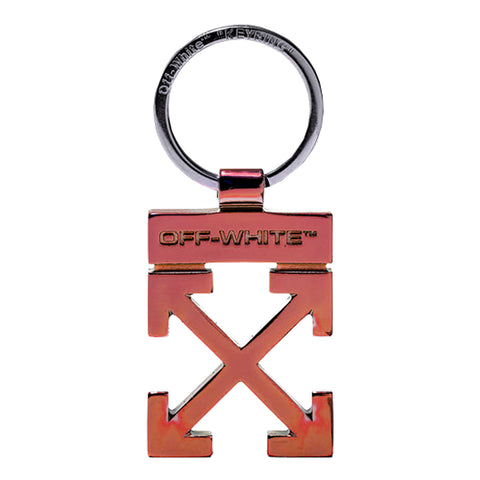 Off-White SS20 Arrow Key Holder, Red