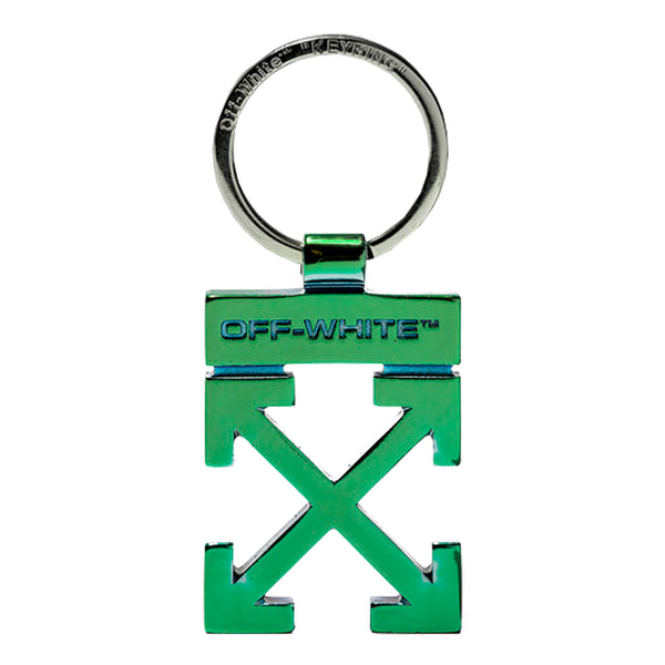 Off-White SS20 Arrow Key Holder, Green