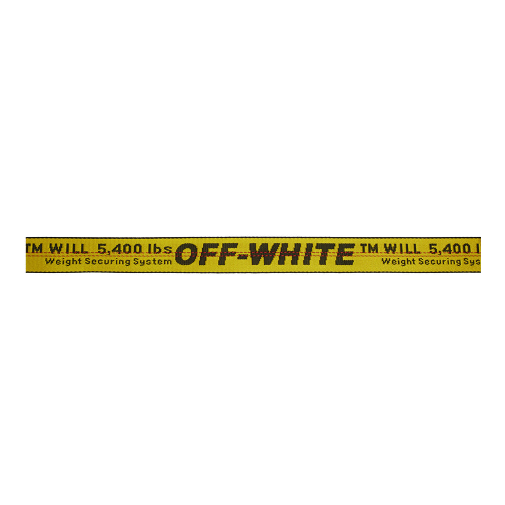 Off-White PS20 Carry Over Industrial Belt, Yellow