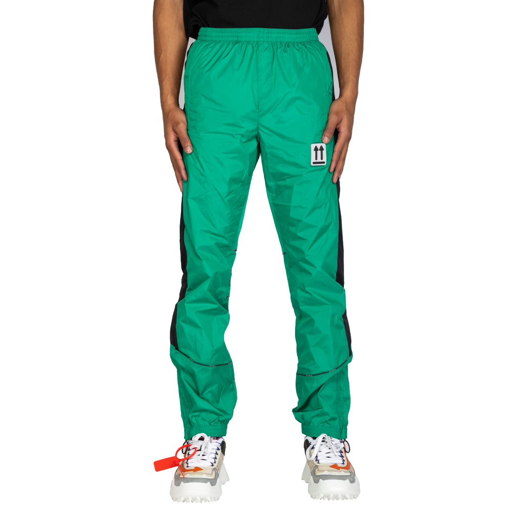 Off-White SS20 River Trail Trackpant, Mint