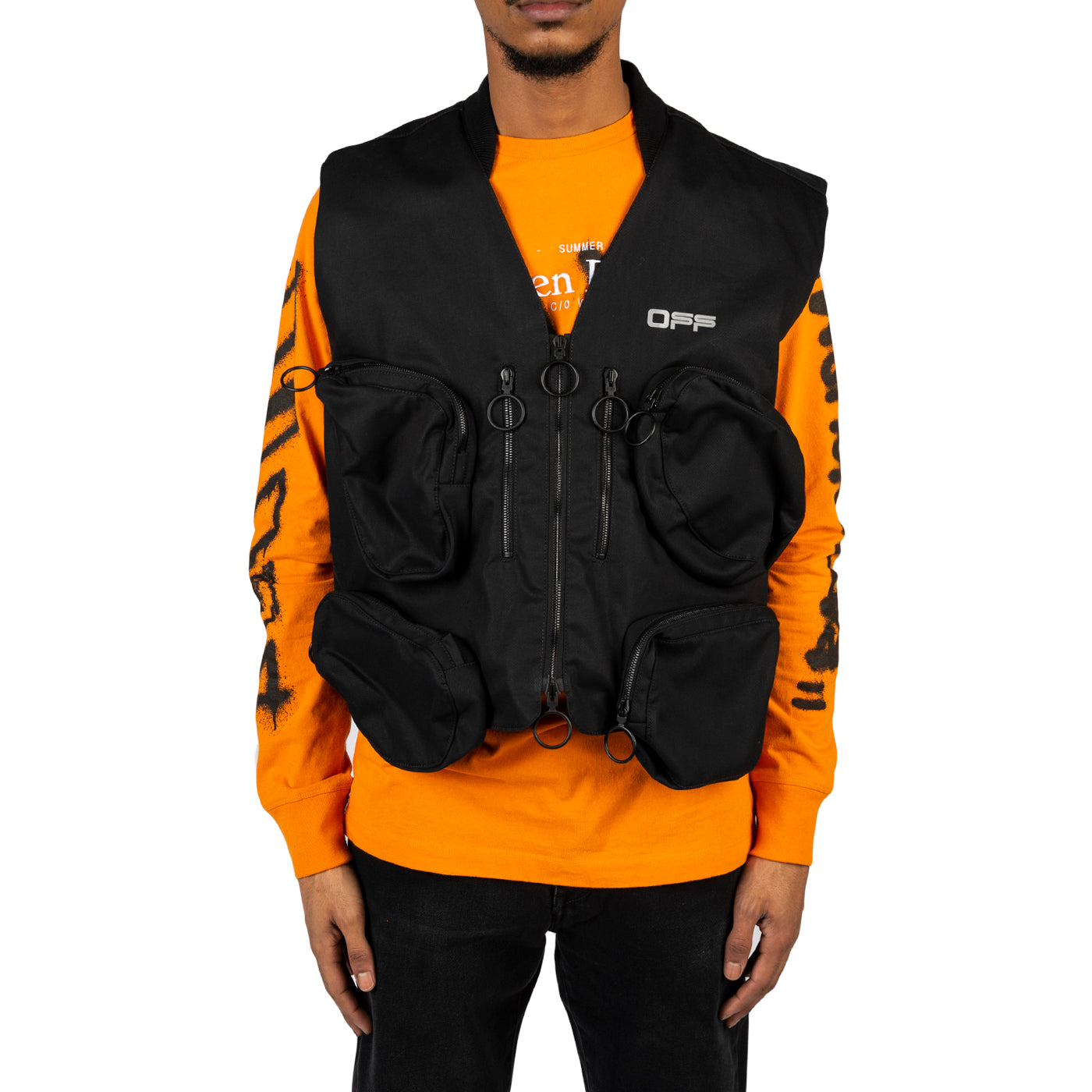 Off-white Ps20 Tactical Vest, Black/silver