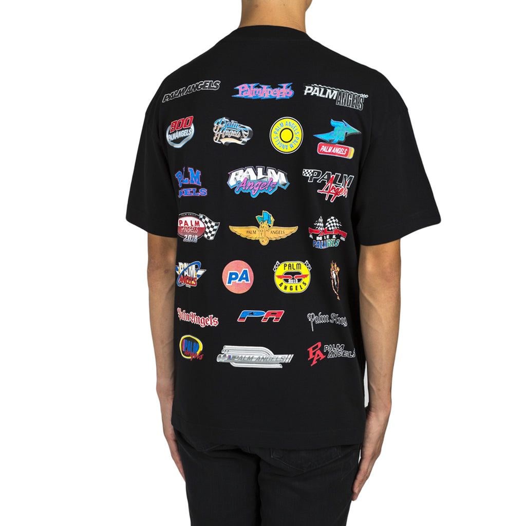 Palm Angels Racing Logos Tee