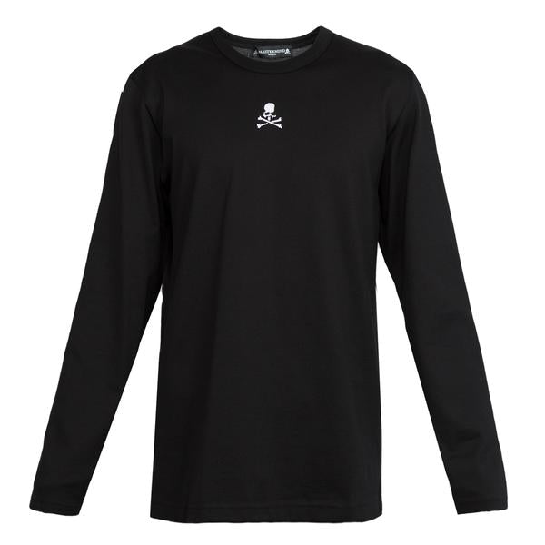 mastermind World Embroidered L/S Tee (Black)
