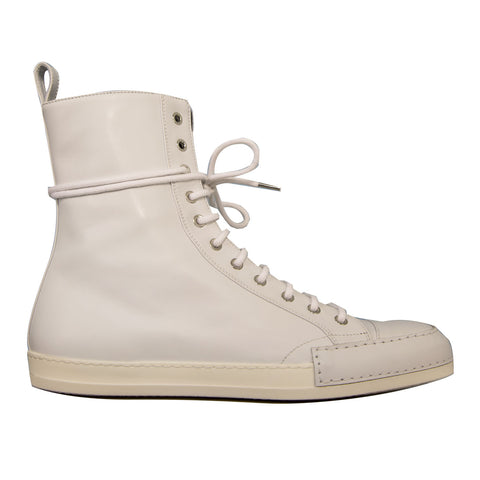 Haider Ackermann High Top Sneaker (White)
