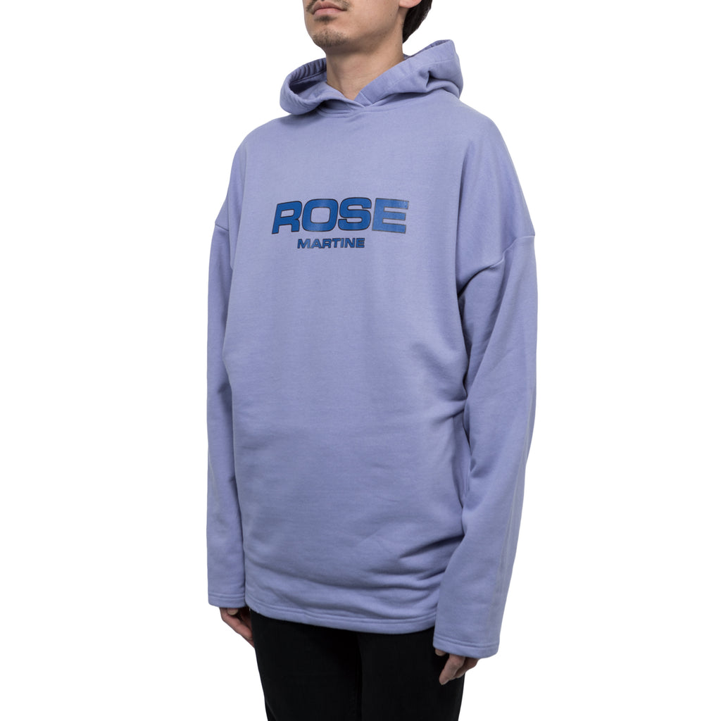 Martine Rose Collapsed Hoodie (Lilac)