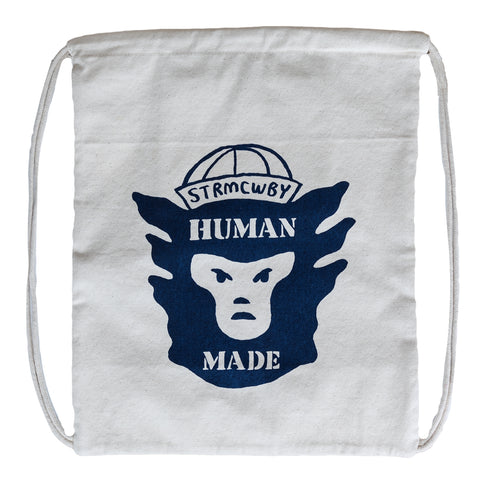 Human Made Canvas Knapsack (White)