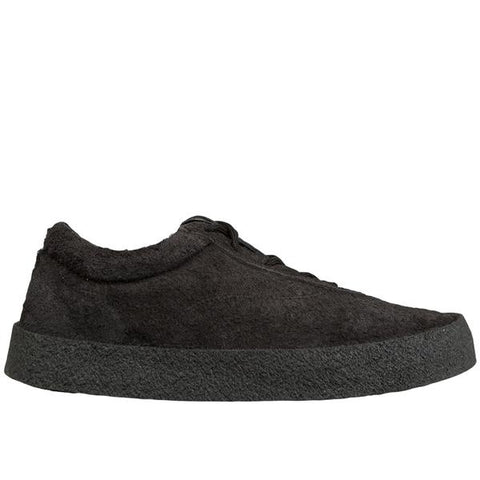 Yeezy S6 Men's Crepe Sneaker In Thick Shaggy Suede, Graphite