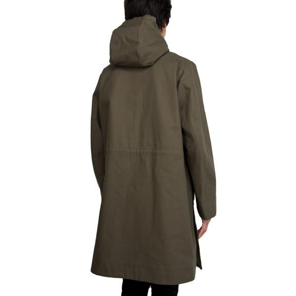 Acne Melt Parka (Safari Green)