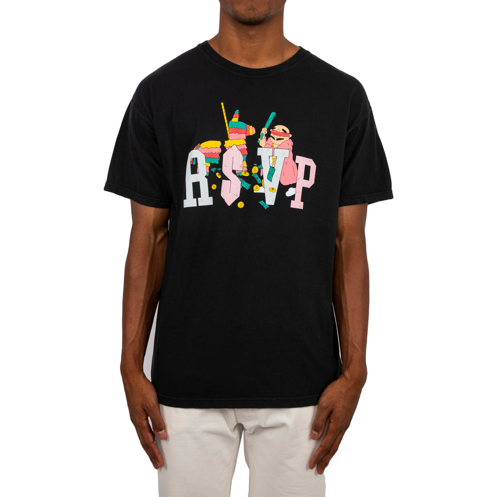 RSVP Gallery x Ugly Primo Logo Tee, Black