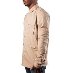 OAMC Contrast Pleat Shirt (Tan)