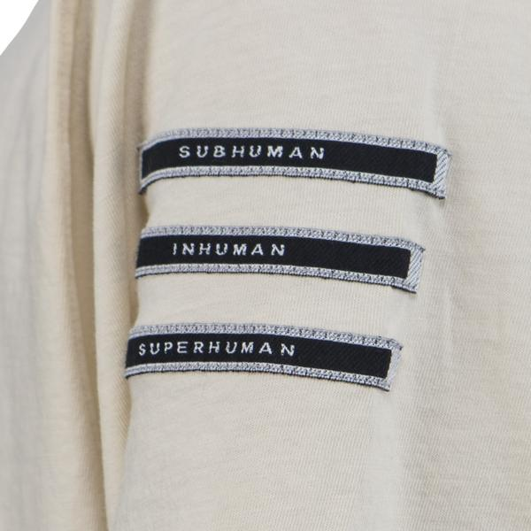 DRKSHDW by Rick Owens Woven Jumbo T-shirt (Natural)