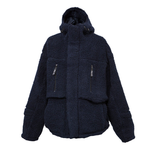 Martine Rose Fleece Jacket (Navy)