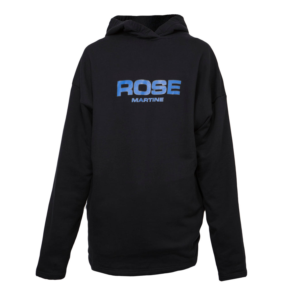 Martine Rose Collapsed Hoodie (Black)