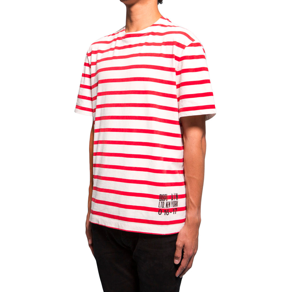 Alexander Wang Surplus Striped Tee (Red)
