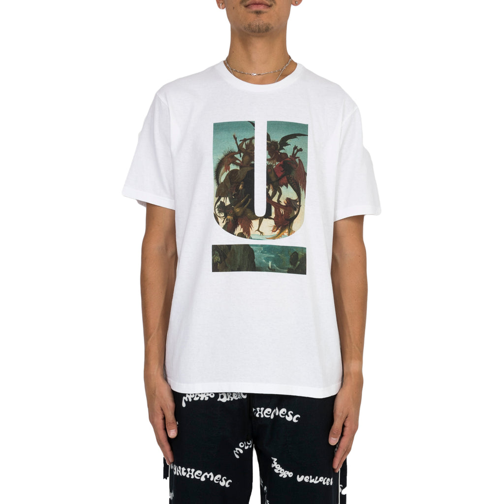 "Undercover FW19 ""U"" Graphic Print T-Shirt, White"