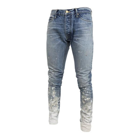 Fear Of God Selvedge Denim Painters Jean, Indigo Romper