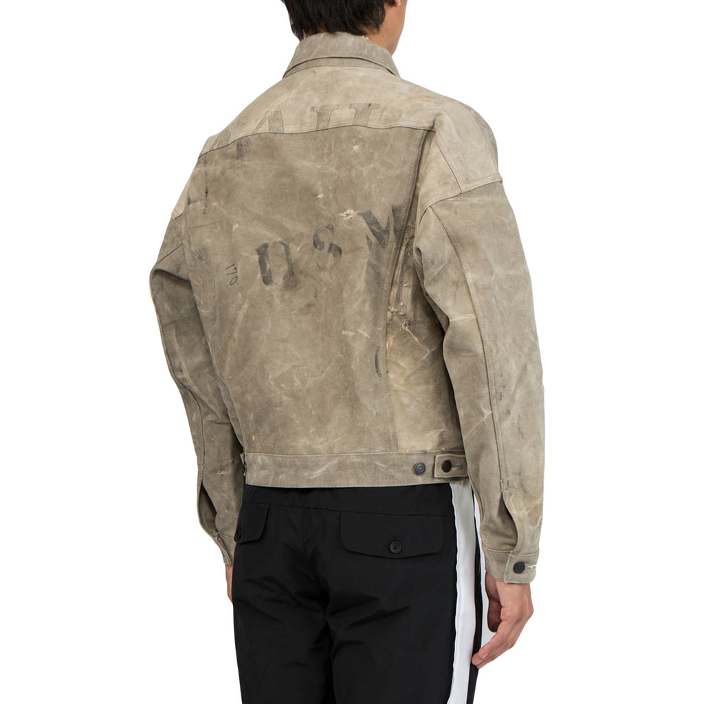 Ready Made Oversize Work Jacket (White)