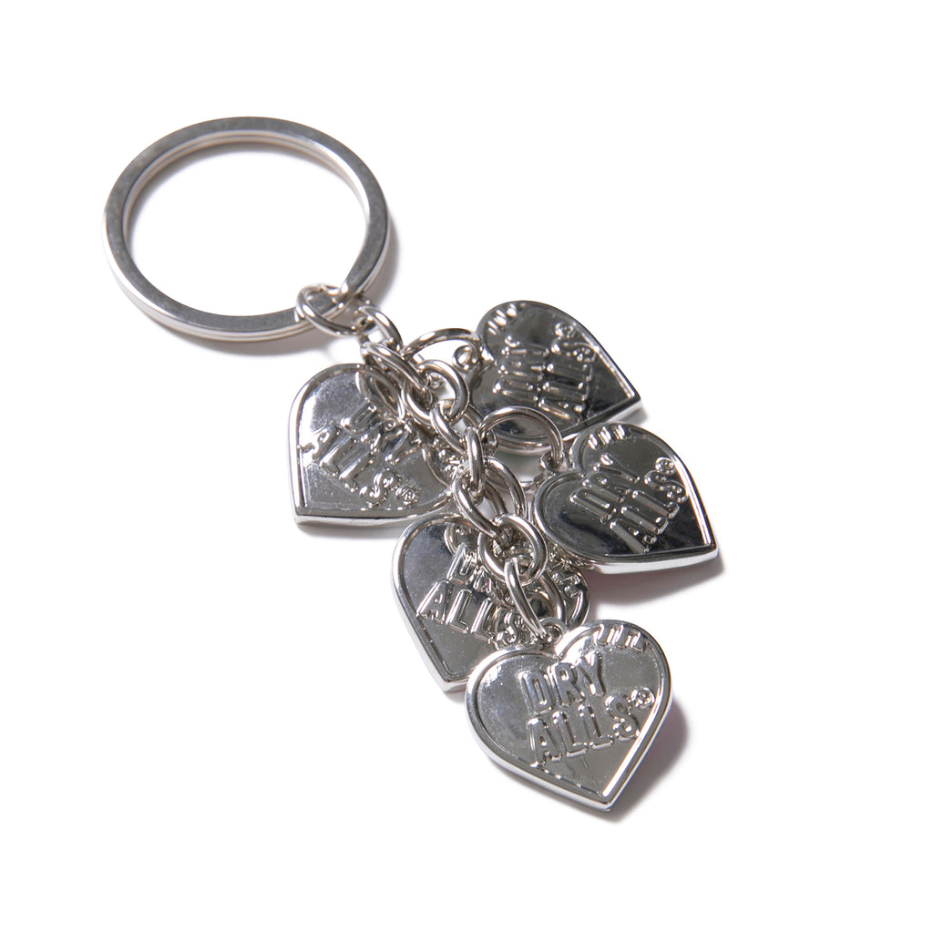 Human Made SS20 Heart Key Charm, Silver
