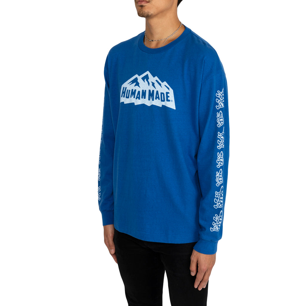 Human Made FW19 Long-T, Blue