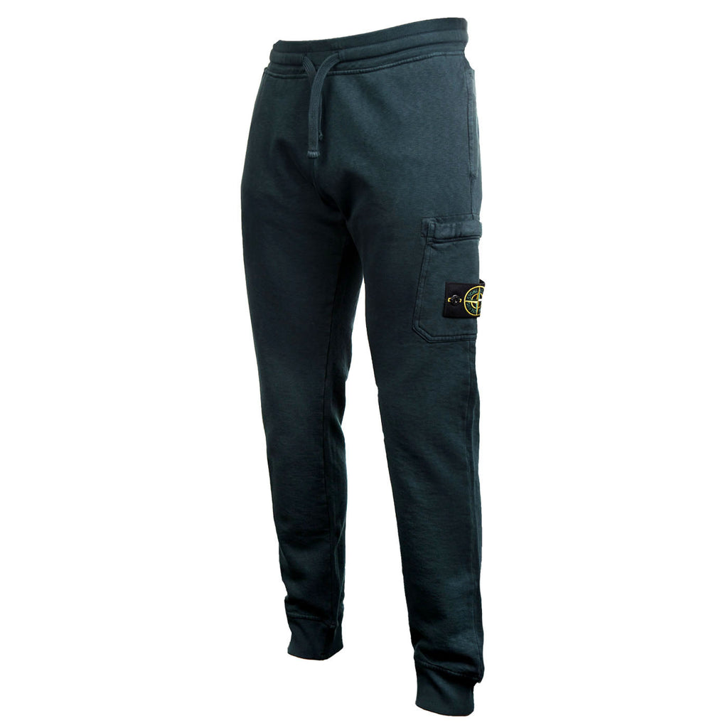 Stone Island Fleece Pants (Forest Green)