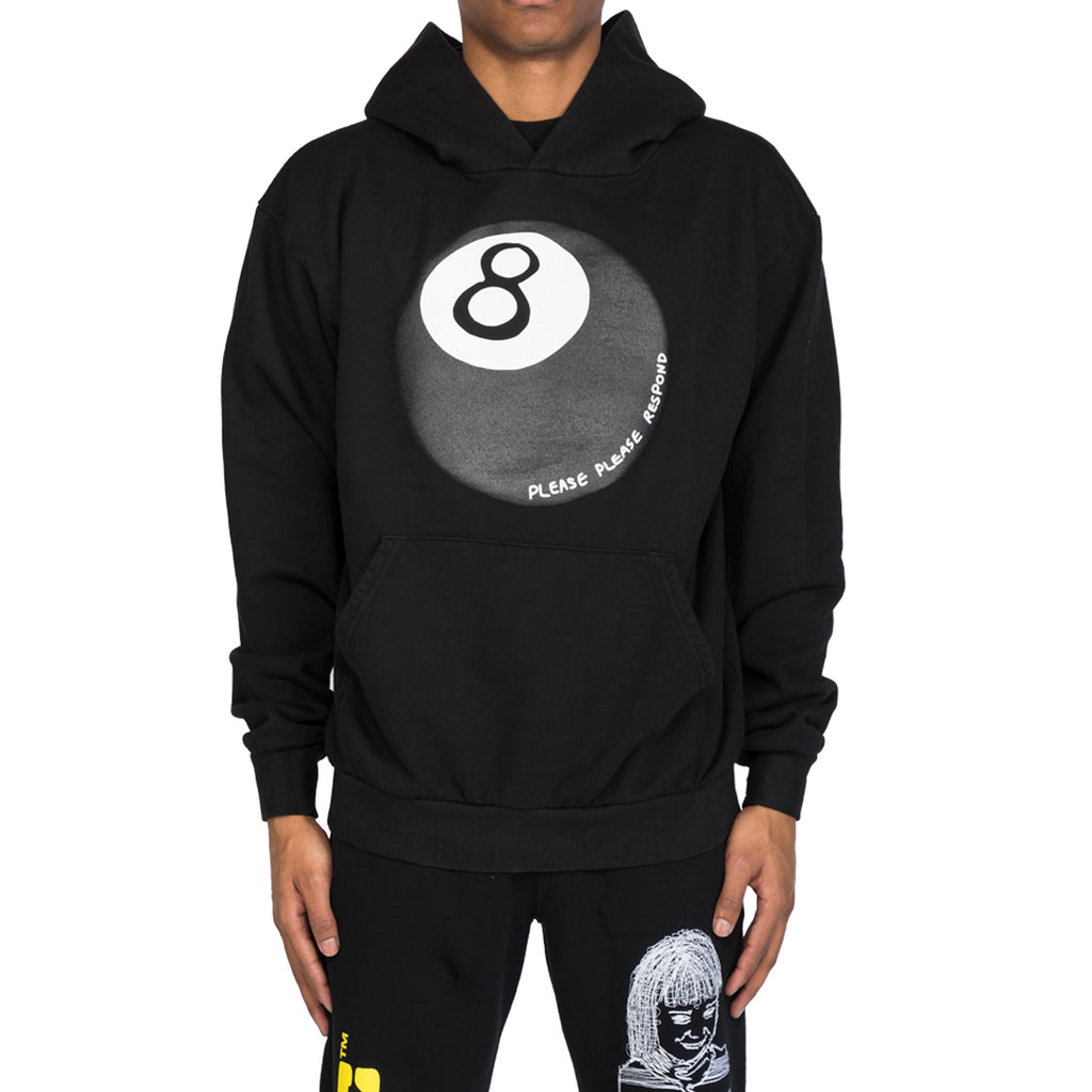 RSVP Gallery Magic 8 Ball Hoodie, Black