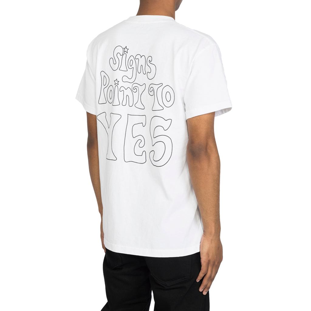 RSVP Gallery Magic 8 Ball S/S Tee, White