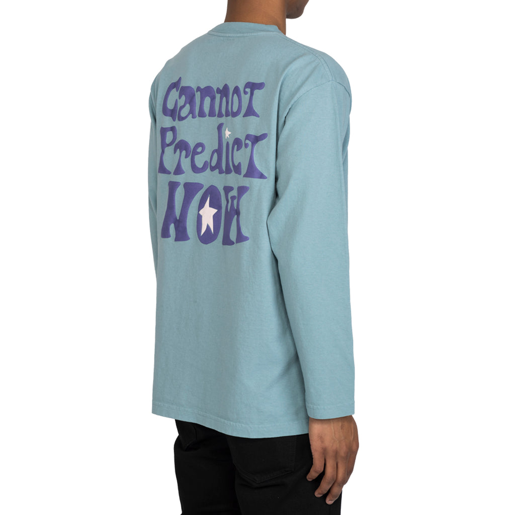 RSVP Gallery Magic 8 Ball L/S Tee, Slate Blue