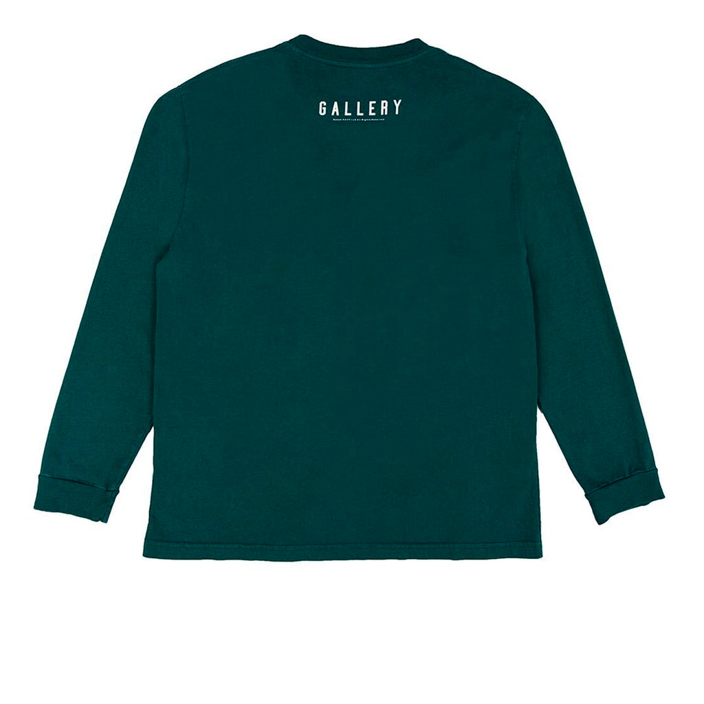 RSVP Gallery L/S Tee, Pro Green/White