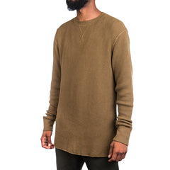 T By Alexander Wang Waffle L/S Tee (Army)