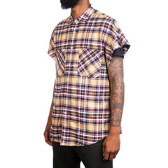 Fear Of God Sleeveless Flannel (Khaki)