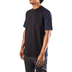 OAMC Perforated T-Shirt (Black/Navy)
