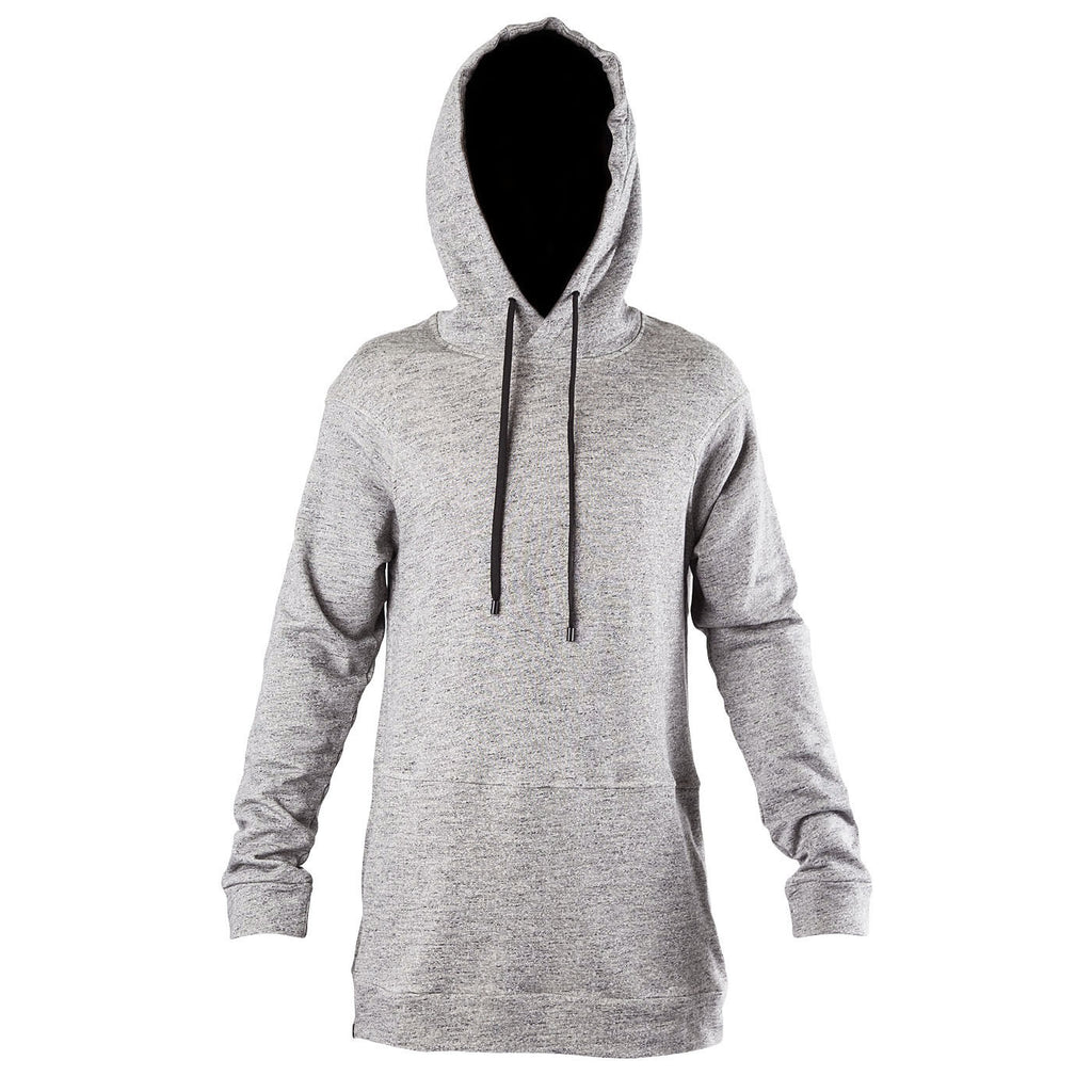 Public School Elongated Sweatshirt w/ Side Zippers (Grey)