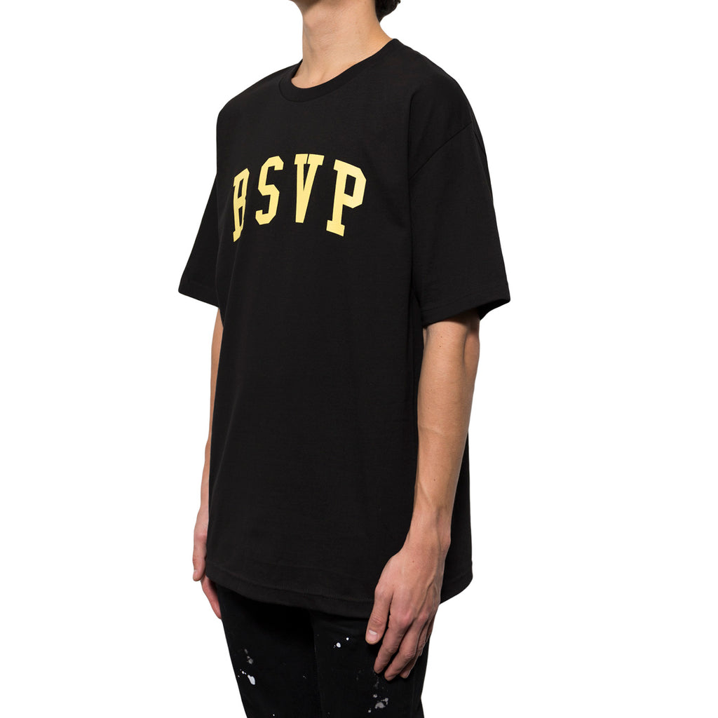 RSVP Gallery Arch Logo Tee (Black/Yellow)