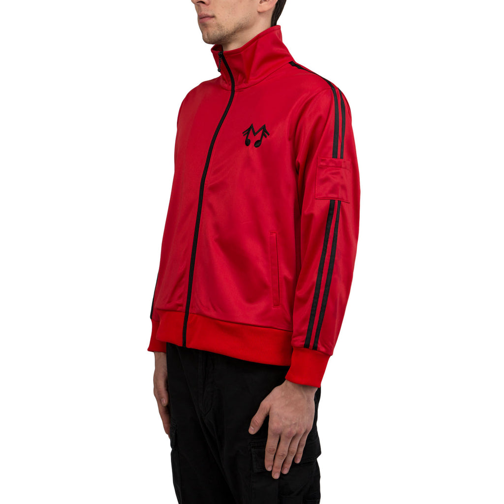 Midnight Studios Music Note Track Jacket (Red)