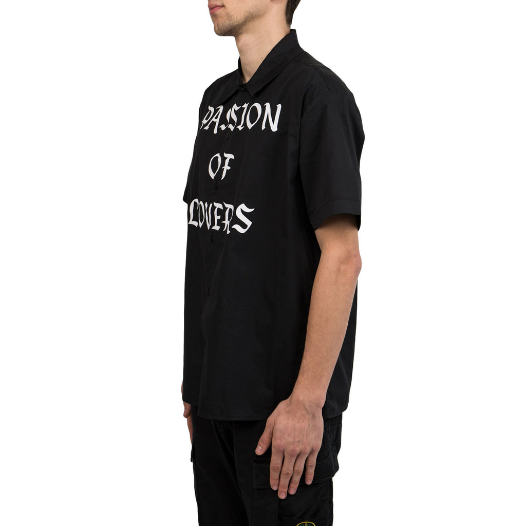 Midnight Studios Passion of Lovers S/S Button Up (Black)