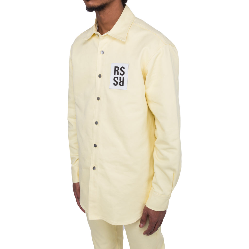 Raf Simons FW19 Carry Over Slim Fit Denim Shirt