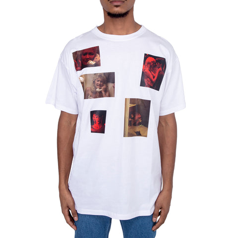 Raf Simons FW19 Big Fit T-shirt w/ 6 Pictures, White