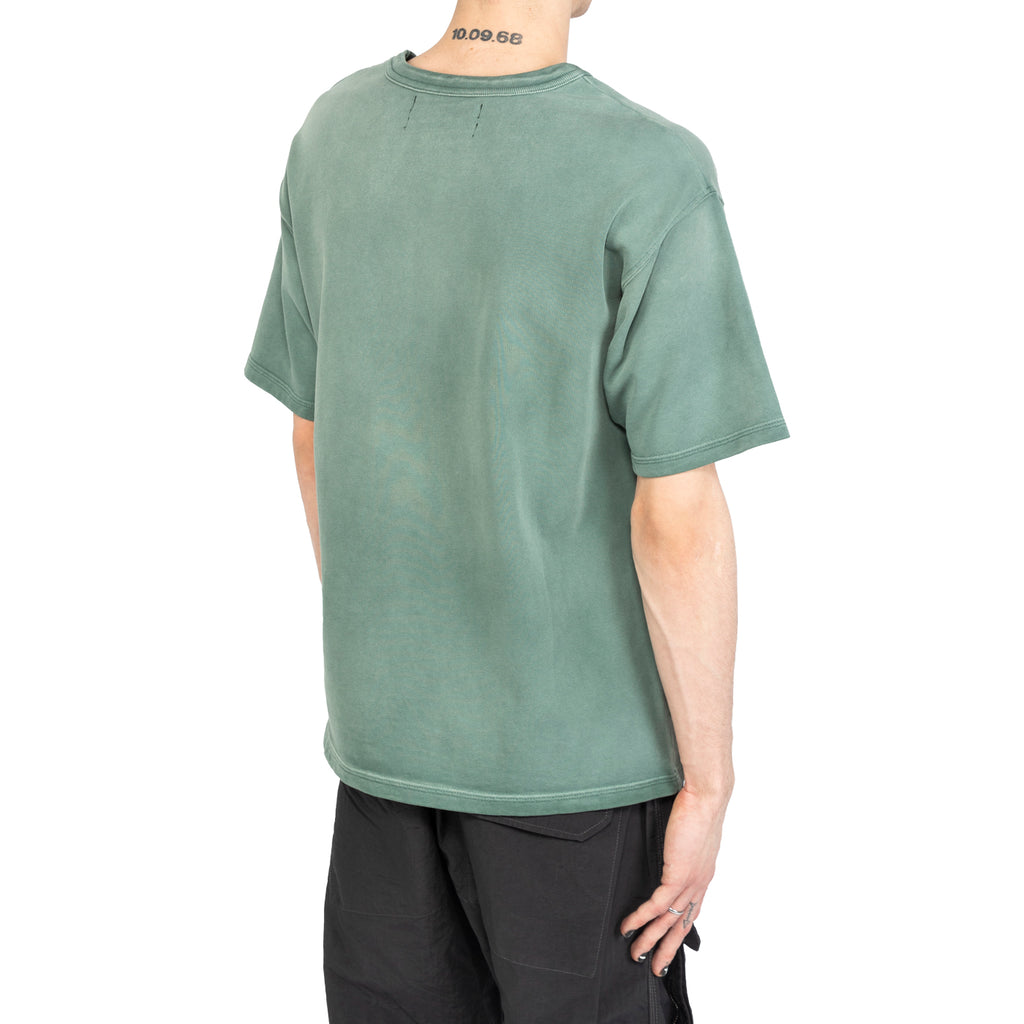 Reese Cooper SS20 All Seasons Aged Tee, Green