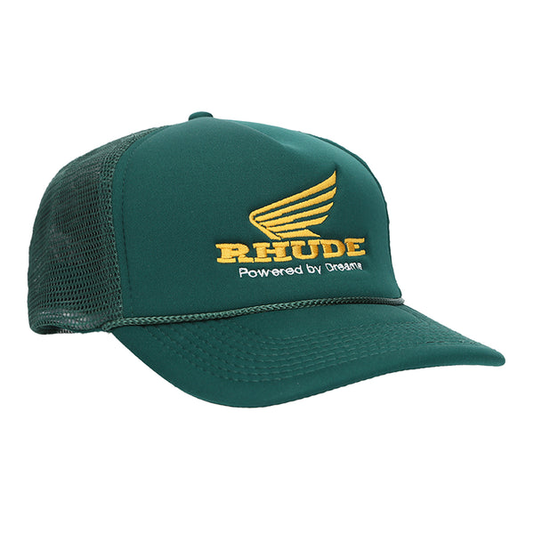 Rhude FW19 Rhonda Trucker, Green/Yellow