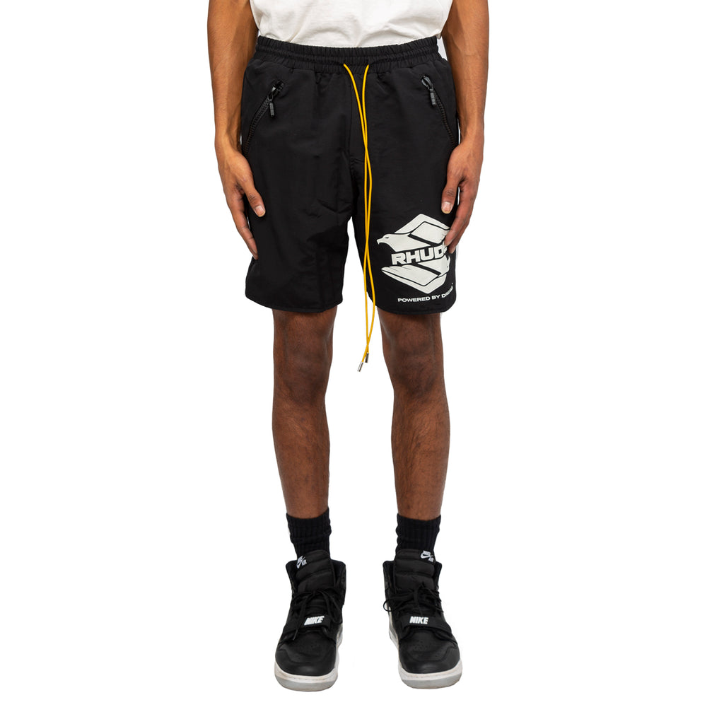 Rhude FW19 Swim Shorts, Black