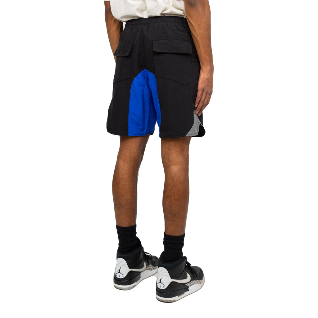 Rhude FW19 Color Black Shorts, Black/Blue