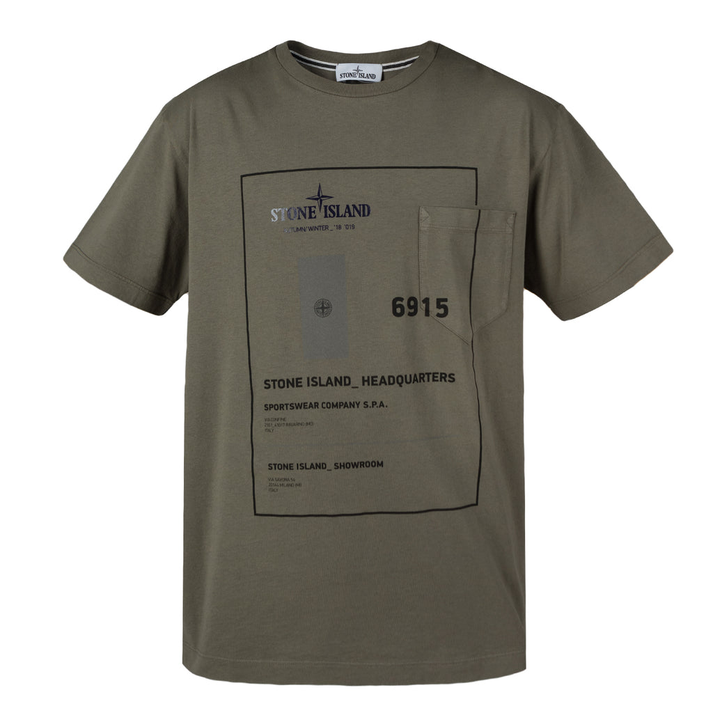 Stone Island 23783 INDUSTRIAL 3, Olive Green