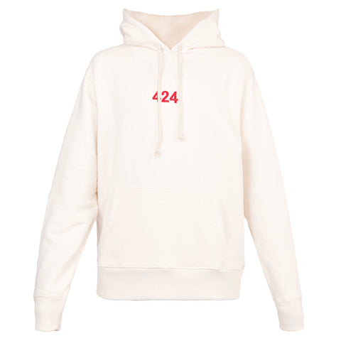 424 Alias Hooded Sweatshirt (Cream)