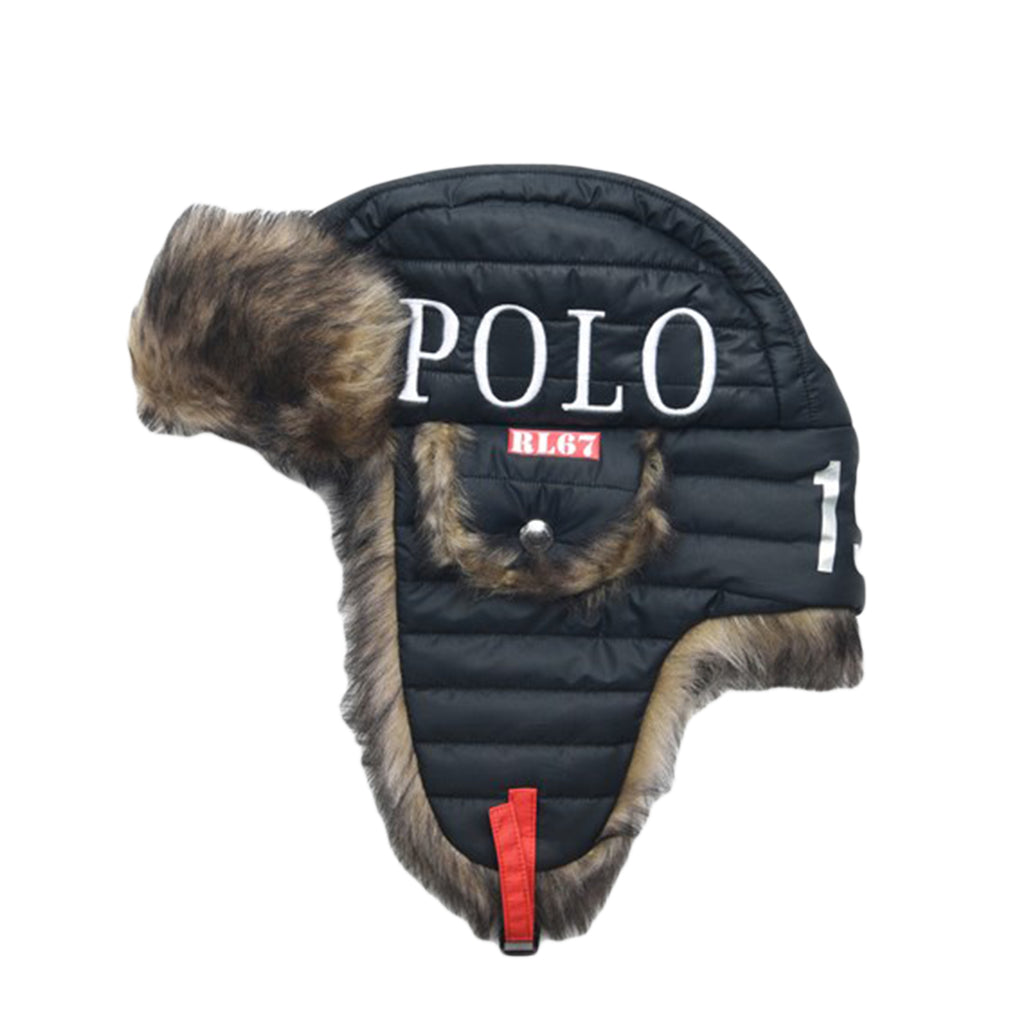 Polo Ralph Lauren Winter Stadium Explorer Hat, Polo Black