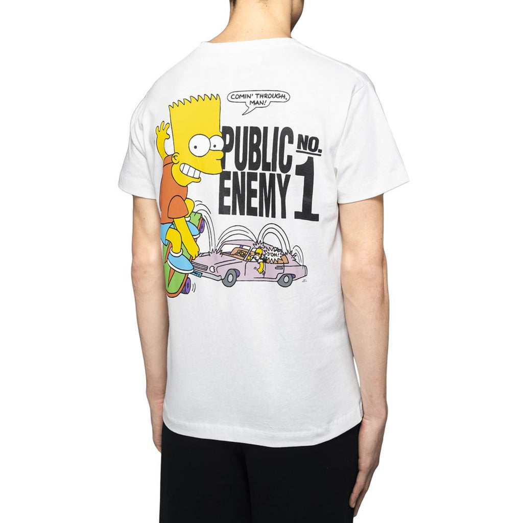 d3780923f1d ... Off-White Bart Public Enemy S S Skinny Tee