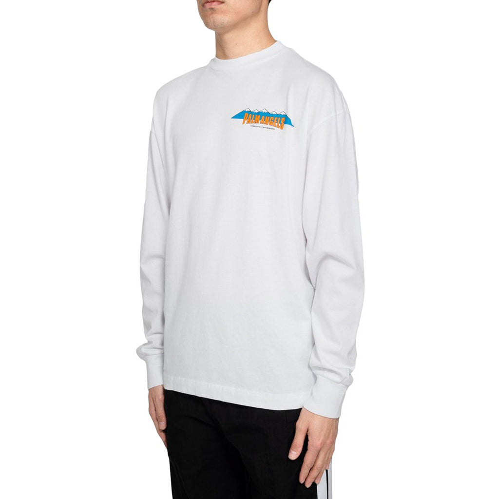 Palm Angels L/S Hiking Tee, White